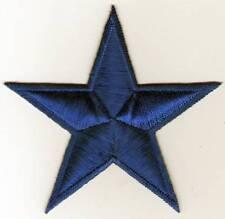 écusson ECUSSON PATCHE THERMOCOLLANT ETOILE BLEUE FONCEE DIMENSIONS 8,5 X 8,5 CM