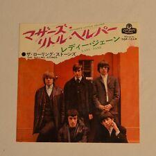 """ROLLING STONES - Mother's little helper - 1966 7"""" SINGLE JAPAN"""