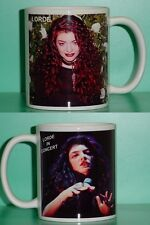 Lorde - Ella Maria Lani Yelich-O'Connor - with 2 Photos - Collectible Gift Mug