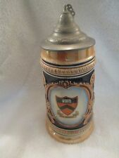 c1952 Princeton University Germany Beer Stein Eric P Mihan Football Tigers