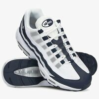 NIKE AIR MAX 95 ESSENTIAL Scarpe Running Uomo Sneakers WHITE NAVY CI3705 400