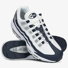 NIKE AIR MAX 95 ESSENTIAL Scarpe Running Uomo Sneakers WHITE NAVY CI3705 400