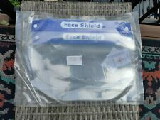 2 Pack Clear Plastic Face Shields, Airborne Germ Defense Barrier