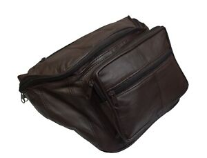 Genuine Leather Concealed Carry Weapon Waist Gun Pouch Fanny Pack Men & Women