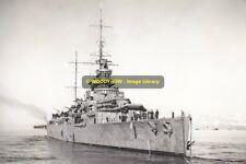 rp10093 - Royal Navy Warship - HMS Effingham , built 1925 - photograph 6x4