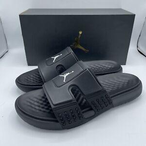 Nike Jordan Hydro 8 Black Multi Size 8 Mens Slides Shower Shoes Flip Flops
