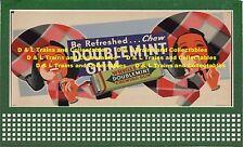Billboard for Lionel Holder Doublemint Gum Twin Girls