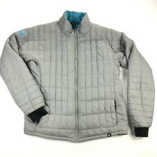 Cotopaxi Kusa Llama Mens 2XL Gray Quilted Puffer Full Zip Jacket