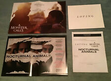 Focus Features Promo Materials Loving Monster Calls Nocturnal Animals Posters