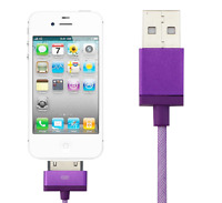 Original USB Sync Data Charger Cable for iPhone 4 4s 3gs ipod & USB Wall charger