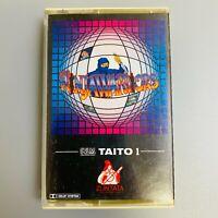 Rare TAITO Ninja warriors Game Music Soundtrack Zuntata Retro NES Cassette Tape