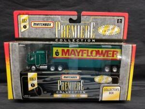 1996 Matchbox Premiere Rigs Series 1 Matchbox Kenworth Mayflower Moving Truck
