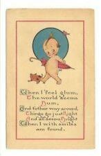 ANTIQUE Kewpie Doll Postcard Unused