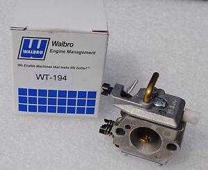 GENUINE OEM Walbro WT-194 Carburetor for Stihl 024, 026, MS260, 024AV, 024S
