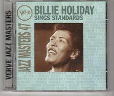(HG918) Jazz Masters 47: Billie Holiday Sings Standards - 1995 CD