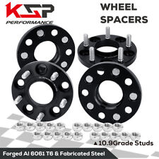 4X 15mm Wheel Spacer Adapters 5x4.5 to 5x114.3 12X1.25 Studs Fit Nissan Infiniti
