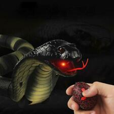 44cm Infrared RC Remote Control Snake Realistic Cobra Prank Fun Toy USB Charging