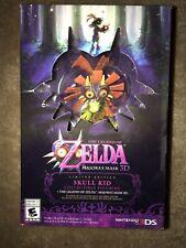 Legend of Zelda Majora's Mask 3DS Limited Edition Skull Kid Authentic NEW