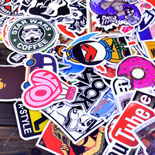 50pcs/lot mixed Stickers Skateboard  Graffiti Laptop Luggage Vinyl Decals party