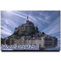 Mont Saint-Michel fridge magnet Normandy travel souvenir France
