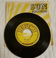 """SUN 258 Johnny Cash """"There You Go"""" b/w """"Train of Love""""  new store stock Mint NR"""