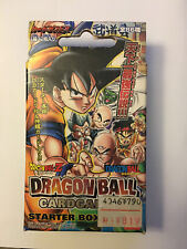 Dragon Ball Card Game 4 Starter Box