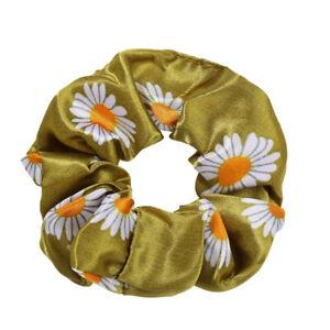 New Women Satin Ponytail Scarf Bow Hair Rope Ties Scrunchies Ribbon Hair Band