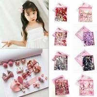 18PCS Kawaii Hairpin Baby Girl Hair Clip Bow Flower Barrettes Star Kids Infant