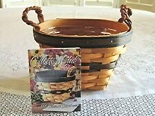 Longaberger 2000 Collector's Club Renewal Basket in Box, Protector, Product Card