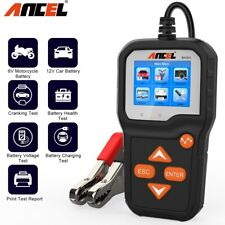 6V 12V Car Battery Tester 100-2000 CCA Cranking Charging System Battery Analyzer