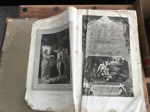 Self Interpreting Bible Rev John Brown 1821 very large Bible much needed TLC