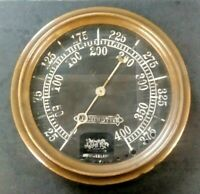 Vintage 1900's Railroad Train Steam Locomotive Ashton steam gauge Boston Mass