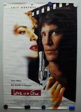 LOVE IS A GUN 1994 Eric Roberts, Kelly Preston, Eliza Roberts-Poster