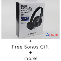 Sony Mdr-Zx110nc Noise Canceling Headphones/Headset - Black