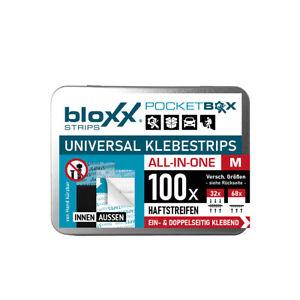 bloxx® Power Klebestrips Mix-SET M 100 Stück | bis 2,5kg, Wasserfest NEU + OVP