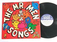 THE MR MEN SONGS Arthur Lowe 1979 BBC Records Vinyl LP REC 345 VG+/VG+