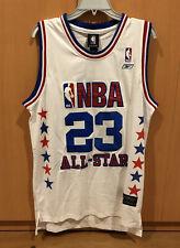 Stitched #23 Michael Jordan M Washington Wizards 2003 All-Star NBA Jersey