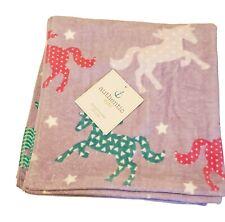 Authentic Kids Beach Pool Towel for girls (Purple) Unicorn NWT