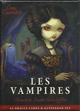 LES VAMPIRES ORACLE CARDS WITH GUIDEBOOK CAVENDISH JASMINE BECKET GRIFFITH TARO