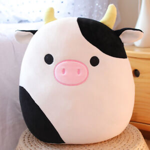 Squishmallows Connor  Cow Plush Toys Cuddle & Squeeze Super Soft Doll KId Gift