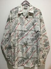 Southpole Men's 2XL Shirt Multicolor Unique Pattern Rare Collectible New York