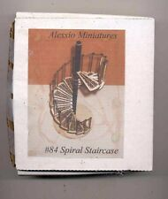 "Staircase Kit - Spiral fits 8,9 & 10"" Ceiling 1/12 scale Stairs Made in USA #84"