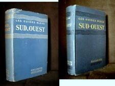 """Guide Bleu """"SUD OUEST"""" Bordelais Aquitaine Poitou 1952"""