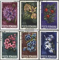 Rumänien 3224-3229 (kompl.Ausg.) gestempelt 1974 Pflanzen
