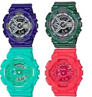 Casio G-Shock S Series Unisex Quartz Analog-Digital Alarm Multi-Color Watch