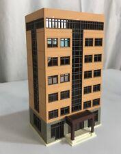 CL144-T-YEL: 1:144 N scale Building for Gundam, Railway, Sci-Fi diorama - Yellow