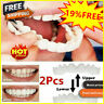 NEW UPPER & LOWER MAGIC TEETH BRACE TEMPORARY SMILE COMFORT FIT COSMETIC DEN #35