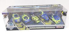 Majorette Model Car metal 5 Pack Gift Set Alpha Mods P.D. Police Series 2.1 glow
