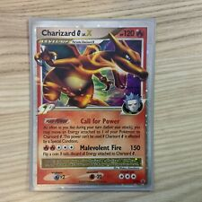 Charizard G Lv.X DP45 Holo Ultra Rare PSA 7-8? (Worn Edges)