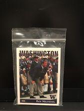 2002 Washington Huskies Football Card Set